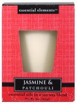 Candle Lite 1540020 Scented Candle, Jasmine & Patchouli, 9-oz. Jar