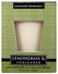 Candle Lite 1540350 Scented Candle, Lemongrass & Coriander, 9-oz. Jar