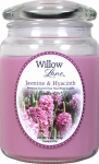 Candle Lite 1646622 Scented Candle, Jasmine & Hyacinth, 19-oz. Jar