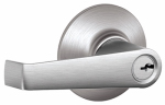 Schlage Lock F80CSV ELA626 Storeroom Lockset, Elan Knob, Satin Chrome, Fits 2-3/8 & 2-3/4-In. Backsets
