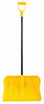 Ames Companies The/Snow Tools 1649800 Poly Combo Snow Shovel, 20-In.