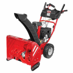 Mtd Products 31AM6BP2766 Gas Snow Blower, 2 Stage, 208cc Electric Start Engine, 24-In. Path
