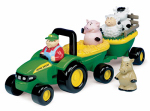 Tomy International 34908A Animal Sounds Hayride Playset, 18 Months & Up
