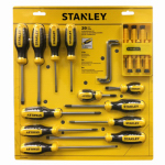 Stanley Consumer Tools 60-220 Screwdriver Set, 20-Pc.