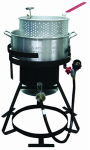 Rankam (China) Mfg TF2048902-KK Fish Fryer, Aluminum, 10-Qts.