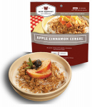 Wise 03-312 Camp Food, Apple Cinnamon Cereal, 2-Serving Pouch