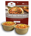 Wise 03-701 Camp Food, Chili Mac With Beef, 2-Serving Pouch