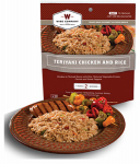 Wise 03-703 Camp Food, Teriyaki Chicken & Rice, 2-Serving Pouch