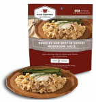 Wise 03-704 Camp Food, Noodles & Beef, 2-Serving Pouch