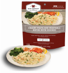 Wise 03-706 Camp Food, Creamy Pasta & Vegetable With Chicken, 2-Serving Pouch