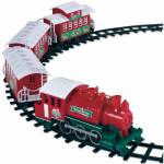 Lionel 933024 Christmas Train Set, 4-Pc.