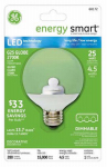 G E Lighting 68172 LED Light Bulb, Clear, G25 Globe, Medium Base, 4.5-Watt
