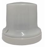 Pass & Seymour 277-FL Compact Fluorescent Lampholder, Pull-Chain Style, White, 13-Watt