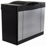 Essick Air Products 4DTS 900 Console Evaporative Humidifier Brushed Nickel, 5.7-gal. Water Capacity, Up to 3600 Sq. Ft. Coverage