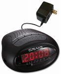 Craig Electronics CR45329B Alarm Clock Radio