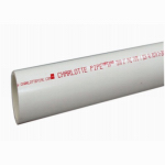 Genova Products 3100572 PVC Pipe, Schedule 40, 600 PSI, 1/2-In. x 2-Ft.