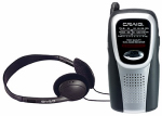 Craig Electronics CS2500 AM/FM Pocket Radio With Speaker/Headphones