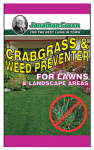 Jonathan Green & Sons 12350 Crabgrass & Weed Preventer, 5,000-Sq. Ft. Coverage