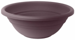 Bloem MB1517-56 Milano Planter Bowl, Exotica Plastic, Indoor/Outdoor, 17-In.