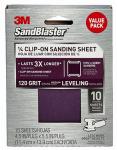 3M 99664SB-ES 10PK 120G Sand Sheet
