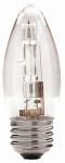 Globe Electric 71129 Halogen Bulb, Chandelier, B11, Clear, 43-Watt, 2-Pk.