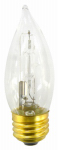 Globe Electric 71131 Halogen Bulb, CA11, Clear, 43-Watt, 2-Pk.