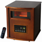 Ningbo Konwin Electrical Appliance GD9315BCW Infrared Heater, Wood Cabinet, 1500-Watts