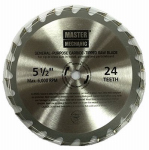 Jinding Group 180077 Circular Saw Blade, 5.5-In., 24-Teeth