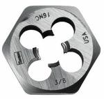 """Irwin Industrial Tool 9434 DIE 3/8""""-16NC 1"""" HEX"""