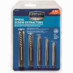 Irwin Industrial Tool 53535 Spiral Screw Extractor Set, 5-Pc.