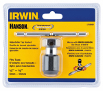 Irwin Industrial Tool 1766069 Self-Aligning Tap Wrench, T-Handle, #4 to 1/4-In.