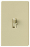 Lutron Electronics TGCL-153PH-IV Single-Pole/3-Way Toggle Dimmer, 150-Watt, Ivory