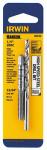 """Irwin Industrial Tool 80230 1/4""""-20 NC 13/64"""" Tap/Drill"""