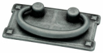 Brainerd Mfg Co/Liberty Hdw 62076AP Cabinet Pull, Horizontal Bail, Antique Pewter, 3-In.