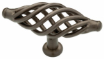 Brainerd Mfg Co/Liberty Hdw 65112RB Cabinet Knob, Birdcage, Rubbed Bronze, 1-3/16-In.