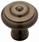 Brainerd Mfg Co/Liberty Hdw 65435RB Cabinet Knob, Iron Craft Ring, Rubbed Bronze, 1-3/8-Im.