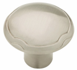 Brainerd Mfg Co/Liberty Hdw P23120-SN-CP Cabinet Knob, Theo Pattern, Satin Nickel, 1.25-In.