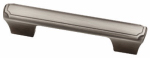 Brainerd Mfg Co/Liberty Hdw P23121-904-CP Cabinet Pull, Theo Pattern, Heirloom Silver, 3 or 3.75-In.