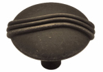 Brainerd Mfg Co/Liberty Hdw P84302-OB-C Cabinet Knob, Knuckle, Distressed Bronze, 1-1/8-In.