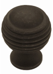 Brainerd Mfg Co/Liberty Hdw PN0523-OB-C Cabinet Knob, Astro Dome, Distressed Bronze, 1-1/8-In.