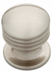 Brainerd Mfg Co/Liberty Hdw PN0925H-BSN-C Cabinet Knob, Athens, Satin Nickel, 1-In.