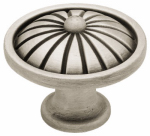 Brainerd Mfg Co/Liberty Hdw PN1291-BSP-C Cabinet Knob, French Tassel, Brushed Pewter, 1.5-In.