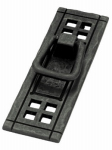 Brainerd Mfg Co/Liberty Hdw PN8006-SAM-A Cabinet Pull, Vertical Bail, Flat Black, 4-1/8-In.