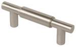 Brainerd Mfg Co/Liberty Hdw P00076C-110-C Cabinet Pull, Modern Metals, Stainless Steel, 3-In.