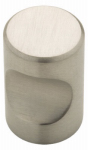 Brainerd Mfg Co/Liberty Hdw 63118NA Cabinet Knob, Thumbprint, Stainless Steel, .75-In.