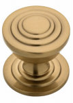 Brainerd Mfg Co/Liberty Hdw P28014-CZ-C Cabinet Knob, Julian Disc, Champagne Bronze, 1-3/16-In.