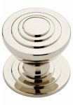 Brainerd Mfg Co/Liberty Hdw P28014-PN-C Cabinet Knob, Julian Disc, Polished Nickel, 1-3/16-In.