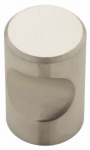 Brainerd Mfg Co/Liberty Hdw 63120NA Cabinet Knob, Thumbprint, Stainless Steel, 7/8-In.