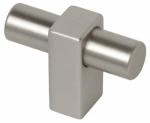 Brainerd Mfg Co/Liberty Hdw P17020C-110-C Cabinet Knob, Artesia, Stainless Steel, 1.75-In.