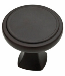 Brainerd Mfg Co/Liberty Hdw P28013-DKG-C Cabinet Knob, Ashtyn Round, Charcoal, 1.25-In.